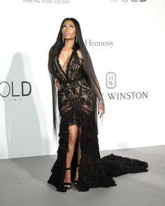 • @opfavestyles  May 29  More   Nicki Minaj in Roberto Cavalli #Cannes2017