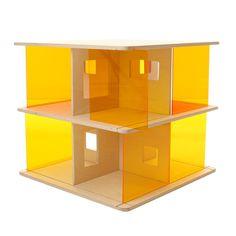 Maison de poupée en bois et plexiglas Ding 3 Momoll