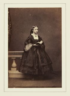 Princess Louise, June 1860 [in Portraits of Royal Children Vol.5 1860-1861]   Royal Collection Trust