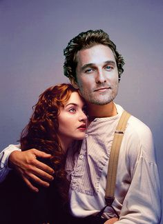 """Studios wanted Matthew 33 things you didnt know about the movie """"Titanic"""" .....McConaughey to play Jack, but James Cameron insisted on having Leonardo DiCaprio play the role. For good reason!!!!!!"""