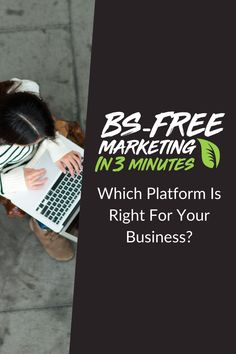 BS Free Marketing - Which Platform Is Right For Your Business? Social Media Marketing Agency, Digital Marketing, Free Market, Online Advertising, Facebook Instagram, Social Platform, Ads, Twitter, Business