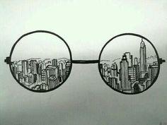 Glasses - doodling