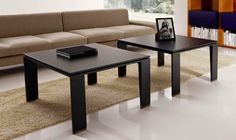 black wooden coffee table designs with high rise legs