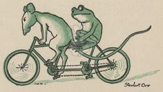 Rat and Frog on Tandem