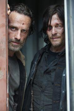 The Walking Dead season 5: Daryl and Rick