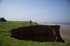 coastal erosion destroys parts of coastline