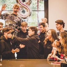It's not a real birthday until cake is in someone's face. Happy birthday again @emiliovmartinez & @ivanmartinez! The #team10 fam loves you! ❤️  @jessicache // @jakepaul @imchancesutton @imanthonytruj @thenickcrompton @erikacostell @kadespeiser @madisonbontempo @taytumandoakley @mailinhstagram @whoismax