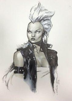 marvelwomenkickingass:  Storm by Olivier Coipel