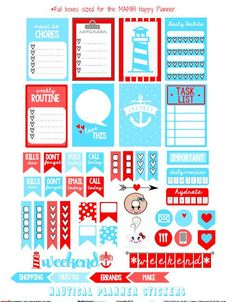 """Hello planner peeps and Happy Friday! It's another weekend coming up soon, so I hope you are excited about the weekend and are ready for your next """"pretty planning"""" session in your Happy Planner. Today, I am releasing a """"nautical """" themed planner stickers set made specifically for Happy Planners by Me and My Big … Continue reading Nautical Planner Stickers – Free Printable →"""