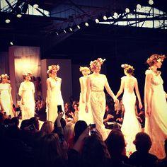 #CLAIREPETTIBONE 2013 #Fashion Show #bridalmarket - Photo:   Photo by ONEHOPEWeddings