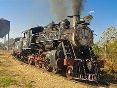 Old Steam Locomotive, Trinidad, Cuba, West Indies, Caribbean, Central America.