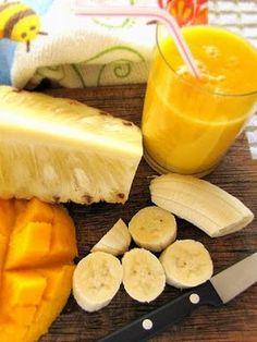 New Fruit Breakfast Smoothie Drinks 48 Ideas Smoothies Detox, Juice Smoothie, Fruit Smoothies, Healthy Smoothies, Healthy Drinks, Healthy Recipes, Fruit Drinks, Fruit Juice, Healthy Breakfasts