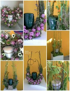 Cremation Urns, Funeral Flowers, Flower Arrangements, Floral Design, Wreaths, Funeral Ideas, Plants, Bouquets, Inspiration