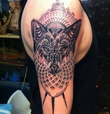 Resultado de imagen para indian wolf tattoo