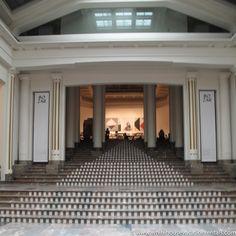 Daniel Buren at Brussels Palais des beaux Arts (Bozar)