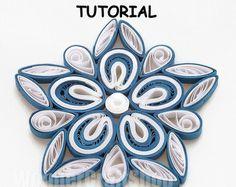DIY paper quilled flower Malaysian Flower por WonderCraftShop