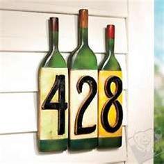 House # made from wine bottles Wine Bottle Corks, Wine Bottle Crafts, Beer Bottles, Melted Wine Bottles, Bottle Labels, Bottles And Jars, Glass Bottles, Bottle Slumping, Bottle House