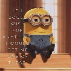 minion despicable me. this is my fav pic of a minion ever. Amor Minions, Minions Quotes, Minions Minions, Citation Minion, Image Minions, Minions Images, Cinema Tv, Funny Quotes, Funny Memes
