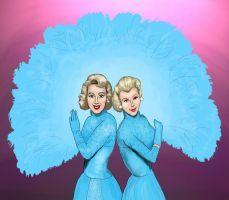 sisters white christmas sisters artworks big sisters art pieces sanat