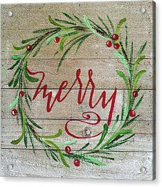 Merry By Molly Susan Strong Framed Art – Multi Frohe von Molly Susan Strong Gerahmte Kunst – Multi