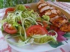 Kurczak pomidorowo -orzechowy pieczony w pergaminie