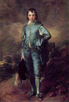 "Gainsborough's ""Blue Boy"""