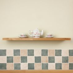These slimline oak floating shelves exhibit all the excellent qualities of oak in a thinner form.