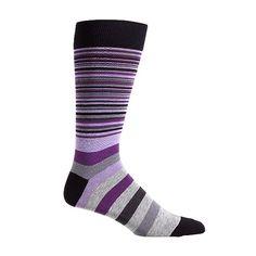 Town Stripe Sock - Men's Accessories: Colehaan.com