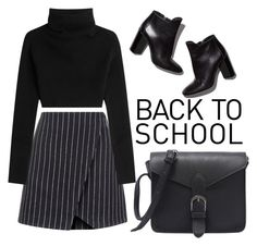 """Back to school"" by babypinepple on Polyvore featuring косметика, New Look, Valentino и Pierre Hardy"