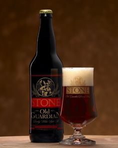 Stone Old Guardian - Old Guardian is a perfect entry-level barleywine. Not heavy and thick, like the more intense varieties, and with extra hops to balance the boozy, fruity malts.