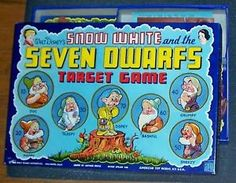 Wow! Check this out! It is an UNUSED, complete original 1938 Snow White and the Seven Dwarfs board game.  Selling for $14,355.55. #snowwhite #vintagegames