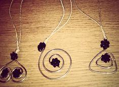 Collane Fil di ferro - Iron Wire Necklace - Handmade DIY
