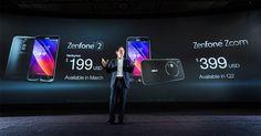 Asus Zenfone Zoom dengan RAM 4 GB Resmi Di Luncurkan. ~ Riau Hot Terkini