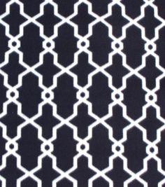 Blizzard Fleece Fabric Black And Cream Geo