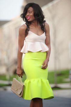 jadore-fashion.com; Stella in peplum!