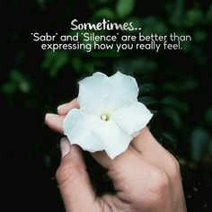 Sabr # Silence