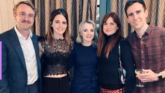 Potterheads are dizzy after Emma Watson and Tom Felton posted pics of a reunion with other Harry Potter alums like Matthew Lewis! Ginny Weasley, Hermione Granger, Draco Malfoy, Harry Potter Hermione, Harry Potter Film, Ron And Hermione, Harry Potter Images, Severus Snape, Matthew Lewis