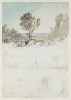 Joseph Mallord William Turner. Sketches from Painting by Claude