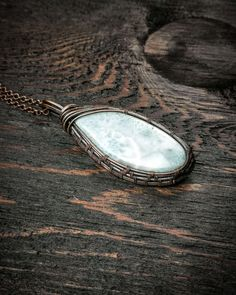 @LittleWraps posted to Instagram: A beautiful Larimar gemstone necklace is the perfect piece of boho jewelry. This crystal pendant features beautiful hues of white and blue, reminiscent of a lush tropical beach. #bohemian #boho #bohochic #bohostyle #hippie #hippiestyle #gypsystyle #gypsysoul #bohojewelry #psychedelic #illusion #gypsyjewelry #boheme #bohemianjewelry #handmadejewelry #etsyjewelry #instajewelry #thirdeye #bohemianstyle #hippiefashion #gypsygirl #labradorite #jewelrygram… Gypsy Style, Hippie Style, Bohemian Style, Boho Chic, Gemstone Necklace, Crystal Necklace, Gemstone Rings, Wire Wrapping Crystals, Crystal Pendant