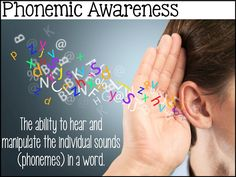 This is a very detailed post about phonemic awareness. It includes activities and ideas to use in the classroom and at home. It also gives you some background about what it is and why it is important.