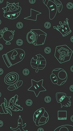 SUAPP: iPhone Wallpapers 8: Mario Kart!