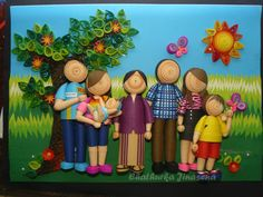 Paper Quilling Talents of Chathurka Jinasena