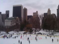 Central Park - Wollman Skating Rink - been there a few times - fun!