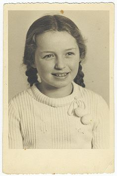 this beautiful little girl was probably one of the many hundreds of thousands of children mudered in the Holocaust. No one knows just what happened to her, but considering she was a Jewish girl in Germany (Dusseldorf, precisely), it seems the likely outcome.  Learn more at the United States Holocaust Memorial Museum website, www.ushmm.org