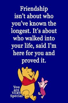 New quotes disney friendship pooh bear 33 Ideas Eeyore Quotes, Winnie The Pooh Quotes, Bff Quotes, Best Friend Quotes, Disney Quotes, Funny Quotes, Quote Friends, Famous Quotes, True Friendship Quotes