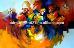 modern Indian paintings