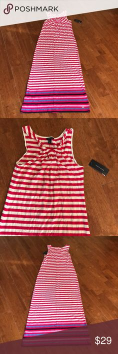 Tommy Hilfiger Striped Maxi Dress New with tags Tommy Hilfiger Dresses Maxi https://www.fanprint.com/licenses/air-force-falcons?ref=5750