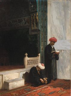 Stanisław Chlebowski (1835–1884) was a Polish painter with Russian and Turkish connections. He was a renowned specialist in Oriental themes.