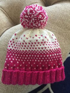 e775d952514 Quick Ombré Hat knitting project by Kristin R
