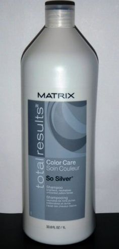 Black Friday Matrix Total Results Color Care So Silver Shampoo For Blonde/Silver/White Hair oz. Shampoo For Gray Hair, Purple Shampoo, Grey Hair Care, Silver White Hair, Corte Y Color, Platinum Hair, Bleached Hair, Pretty Hairstyles, Hair Hacks